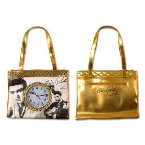 Elvis Golden Clock Tote Bag