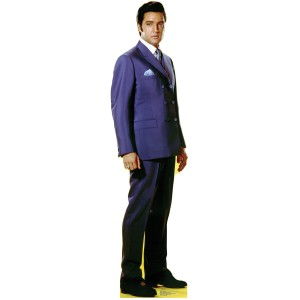 Elvis Speedway Lifesize Stand Up