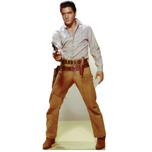 Elvis Flaming Star Gunfighter Lifesize Stand Up