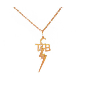 Elvis TCB 14K Gold Necklace