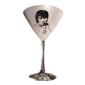 Elvis Classic 70's Martini Glass - Set of 2