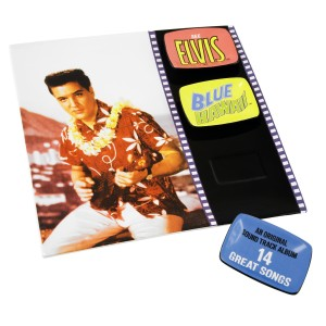 Elvis Blue Hawaii Platter With 3 Dishes
