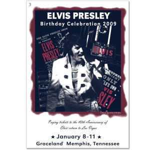 Elvis 2009 Birthday Button