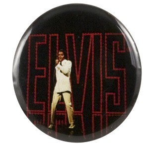 Elvis '68 Comeback Special Button