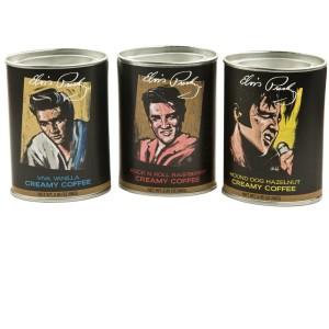 Elvis Coffee Drink Mix Gift Set - 3 Tins
