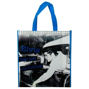 Elvis Has Left the Building Recycle Shopper Bag