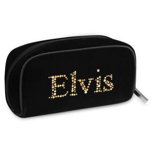 Elvis Velvet Cosmetic Bag - Small