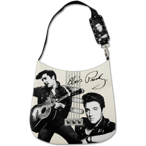 Elvis Guitar Strings Shoulder Bag