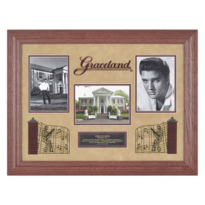 Elvis and Graceland Framed Photo Montage