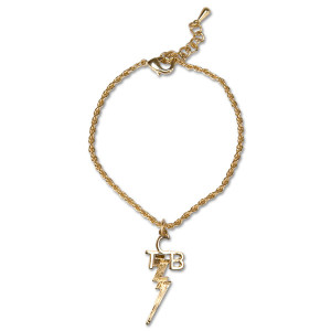 Elvis - TCB 18 kt Gold Plated Anklet