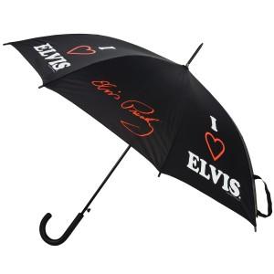 I Love Elvis Umbrella