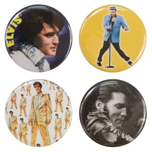 Elvis Round Button Set #1