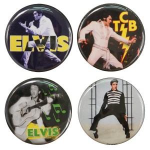 Elvis Round Button Set #2