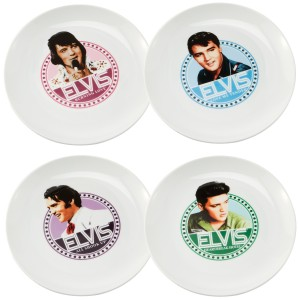 New Elvis King of Rock Plates