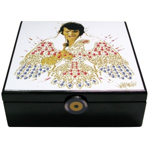 Elvis Eagle Musical Jewelry Box