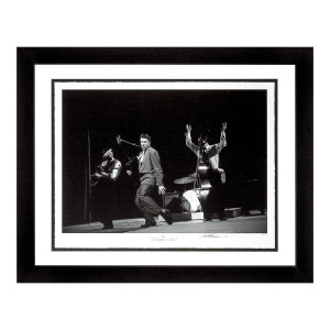 Elvis A Legend Is Born Signed Gicleé Print