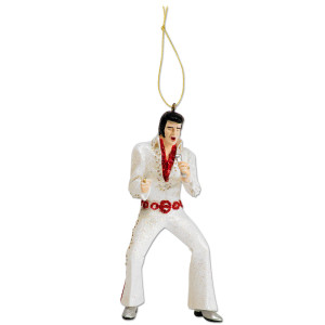 Elvis I Got Lucky Jumpsuit Ornament