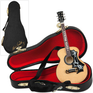Elvis Acoustic Guitar Ornament