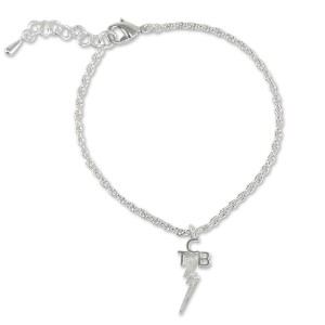 Elvis TCB Silver Plated Anklet
