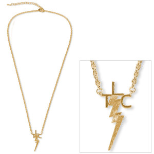Elvis 18kt Gold Plated TLC Necklace
