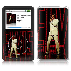 Elvis '68 Special iPod Classic Skin