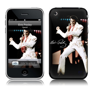 Elvis Aloha iPhone 3G Skin