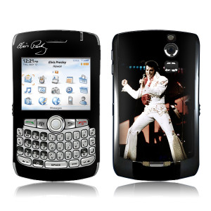 Elvis Aloha Blackberry Curve Skin