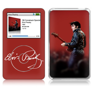 Elvis Leather iPod Classic Skin