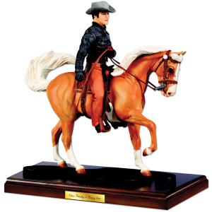 Elvis and Rising Sun Breyer Figurine: Harmony on Horseback