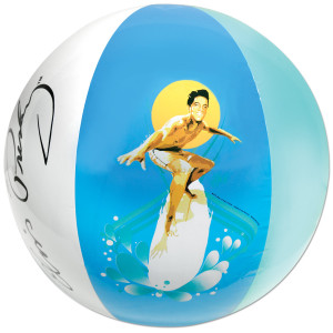 Elvis Blue Hawaii Beach Ball