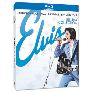 Elvis Blu-ray Collection (3 Blu-ray films) DVD