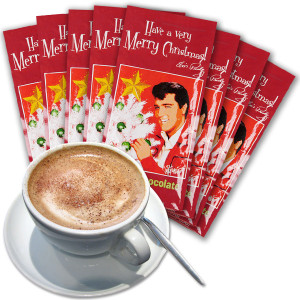 Elvis Rockin' Christmas Cocoa Mix Set of 8