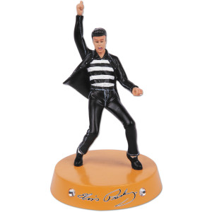 Elvis Jailhouse Rock Yellow Figurine