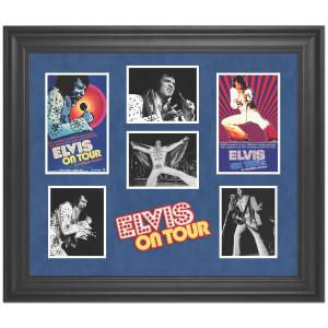 Elvis on Tour Limited Edition Framed Presentation