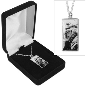 Elvis Motorcycle Sterling Chain Necklace
