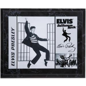 """Elvis Jailhouse Rock 8x10"""" Plaque"""