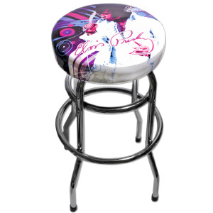 Elvis Jumpsuit Flare Bar Stool