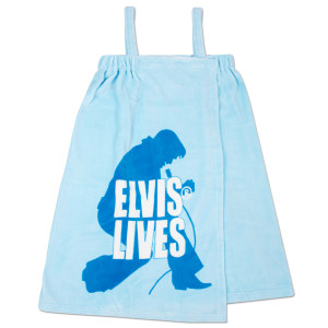 Elvis Lives Bath Wrap