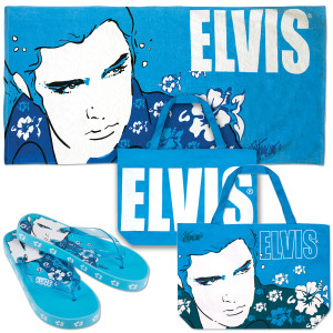 Elvis Blue Hawaii Beach Set