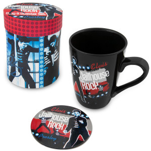 Elvis Jailhouse Rock Mug/Coaster Set