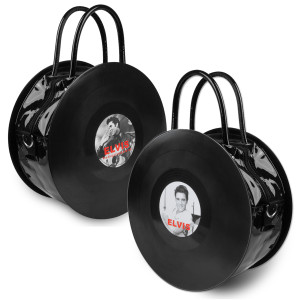Elvis Rockin' Record Handbag