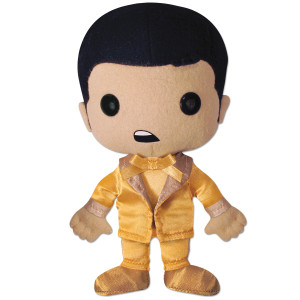 Elvis Gold Lame Plush