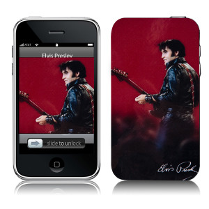 Elvis Leather iTouch 2/3G Skin