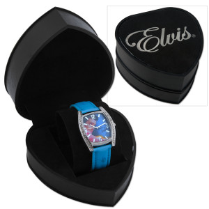 Elvis Pink Jacket Rhinestone Ladies Watch