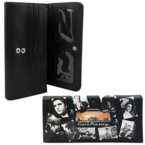 Elvis Nostalgic Wallet/Checkbook Cover
