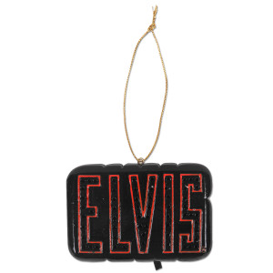Elvis LED Sign Ornament