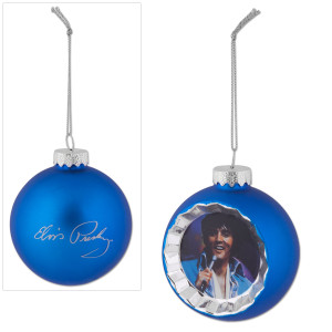 Elvis Jumpsuit Reflector Ornament