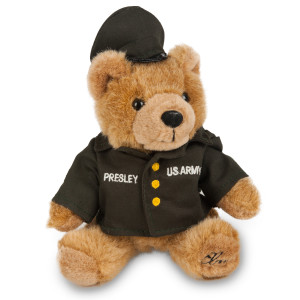 Army Elvis Bear Plush