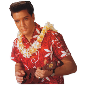 Elvis Presley Blue Hawaii Blank Greeting Card