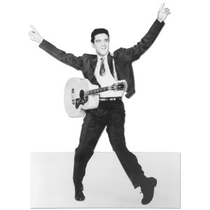 Elvis Presley Blank Greeting Card